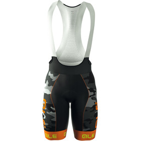 Alé Cycling Graphics PRR Camo Bib Shorts Heren oranje/zwart